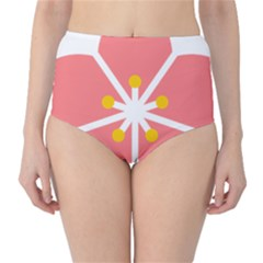 Sakura Heart Guild Flower Floral High-waist Bikini Bottoms by Alisyart