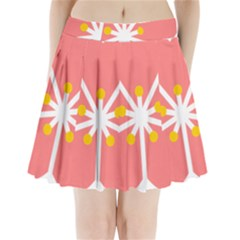 Sakura Heart Guild Flower Floral Pleated Mini Skirt by Alisyart