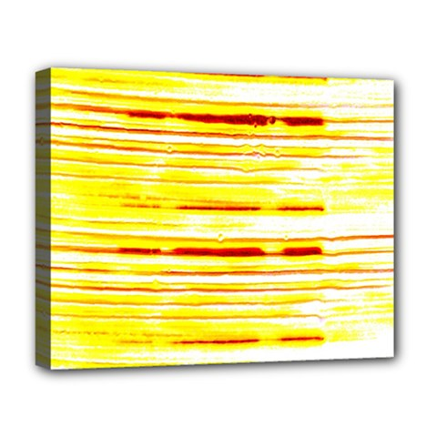 Yellow Curves Background Deluxe Canvas 20  X 16   by Simbadda