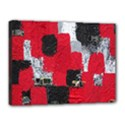 Red Black Gray Background Canvas 16  x 12  View1