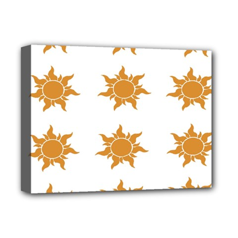 Sun Cupcake Toppers Sunlight Deluxe Canvas 16  X 12