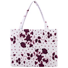 Floral Pattern Mini Tote Bag by Simbadda
