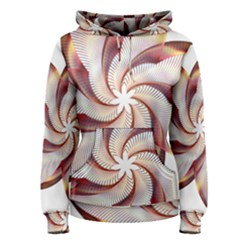 Prismatic Flower Line Gold Star Floral Women s Pullover Hoodie