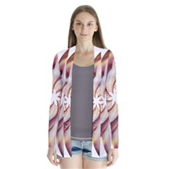 Prismatic Flower Line Gold Star Floral Cardigans