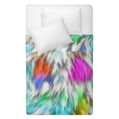 Fur Fabric Duvet Cover Double Side (single Size) by Simbadda