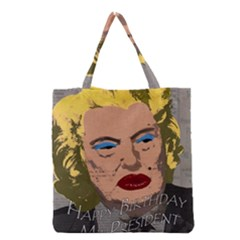 Happy Birthday Mr  President  Grocery Tote Bag by Valentinaart