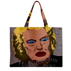 Happy Birthday Mr  President  Mini Tote Bag by Valentinaart