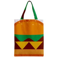 Hamburger Bread Food Cheese Classic Tote Bag by Simbadda