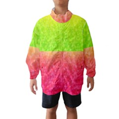 Colorful Abstract Triangles Pattern  Wind Breaker (kids) by TastefulDesigns