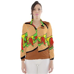 Burger Double Wind Breaker (women) by Simbadda