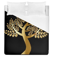 Abstract Art Floral Forest Duvet Cover (queen Size) by Simbadda