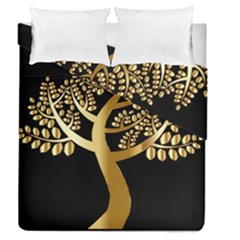 Abstract Art Floral Forest Duvet Cover Double Side (queen Size)