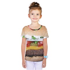Abstract Barbeque Bbq Beauty Beef Kids  One Piece Tee