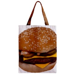 Cheeseburger On Sesame Seed Bun Classic Tote Bag