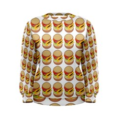 Hamburger Pattern Women s Sweatshirt by Simbadda