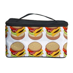 Hamburger Pattern Cosmetic Storage Case by Simbadda