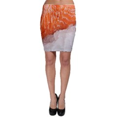 Abstract Angel Bass Beach Chef Bodycon Skirt by Simbadda