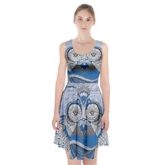Pattern Monkey New Year S Eve Racerback Midi Dress by Simbadda