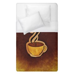 Coffee Drink Abstract Duvet Cover (single Size)