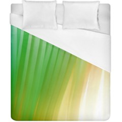 Folded Digitally Painted Abstract Paint Background Texture Duvet Cover (california King Size) by Simbadda