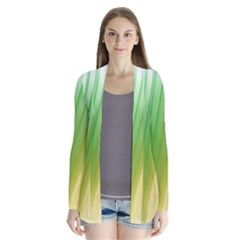 Folded Digitally Painted Abstract Paint Background Texture Cardigans by Simbadda