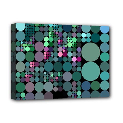 Color Party 03 Deluxe Canvas 16  X 12   by MoreColorsinLife