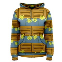 Yellow Flower Floral Sunflower Women s Pullover Hoodie