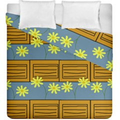 Yellow Flower Floral Sunflower Duvet Cover Double Side (king Size)