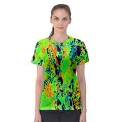 Bow Canopy Height Satelite Map Women s Sport Mesh Tee
