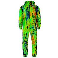 Bow Canopy Height Satelite Map Hooded Jumpsuit (men)  by Alisyart