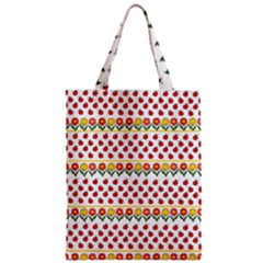 Ladybugs And Flowers Zipper Classic Tote Bag by Valentinaart