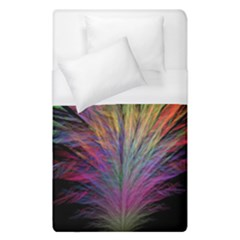 Fractal In Many Different Colours Duvet Cover (single Size) by Simbadda