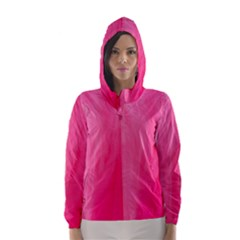 Very Pink Feather Hooded Wind Breaker (women) by Simbadda