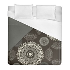 Abstract Mandala Background Pattern Duvet Cover (full/ Double Size) by Simbadda