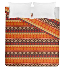 Abstract Lines Seamless Pattern Duvet Cover Double Side (queen Size)