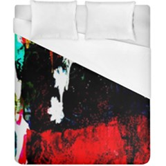 Grunge Abstract In Dark Duvet Cover (california King Size)