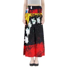 Grunge Abstract In Dark Maxi Skirts