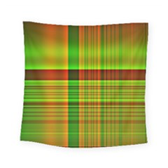 Multicoloured Background Pattern Square Tapestry (small)