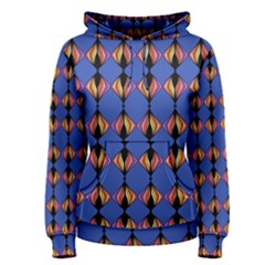 Abstract Lines Seamless Pattern Women s Pullover Hoodie