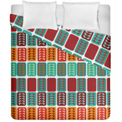 Bricks Abstract Seamless Pattern Duvet Cover Double Side (california King Size) by Simbadda