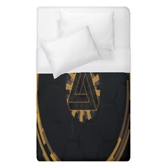 Geometry Interfaces Deus Ex Human Revolution Deus Ex Penrose Triangle Duvet Cover (single Size) by Simbadda