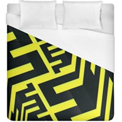 Pattern Abstract Duvet Cover (king Size) by Simbadda