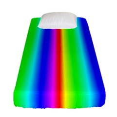 Rainbow Gradient Fitted Sheet (single Size) by Simbadda