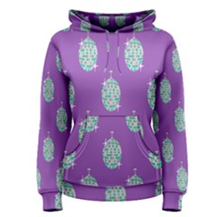Disco Ball Wallpaper Retina Purple Light Women s Pullover Hoodie