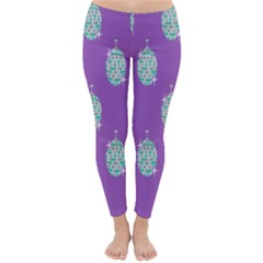 Disco Ball Wallpaper Retina Purple Light Classic Winter Leggings