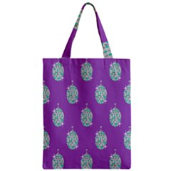 Disco Ball Wallpaper Retina Purple Light Zipper Classic Tote Bag by Alisyart