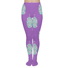 Disco Ball Wallpaper Retina Purple Light Women s Tights