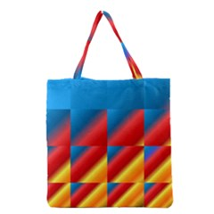 Gradient Map Filter Pack Table Grocery Tote Bag
