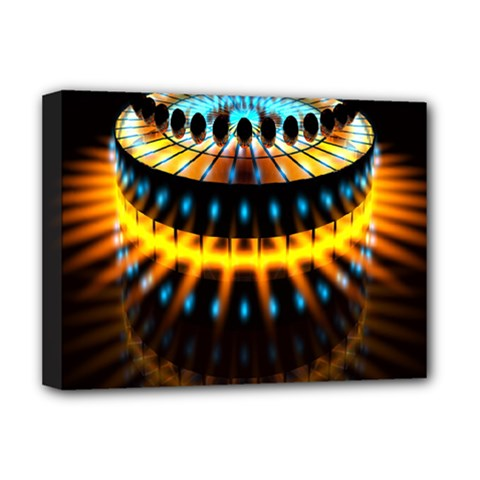 Abstract Led Lights Deluxe Canvas 16  X 12