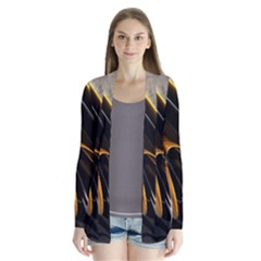 Abstract 3d Cardigans by Simbadda